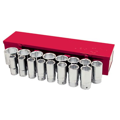 4 Length Long Ball Nose Hex Bit Socket Set Jet 601804-7-Piece 3//8-inch Drive S.A.E